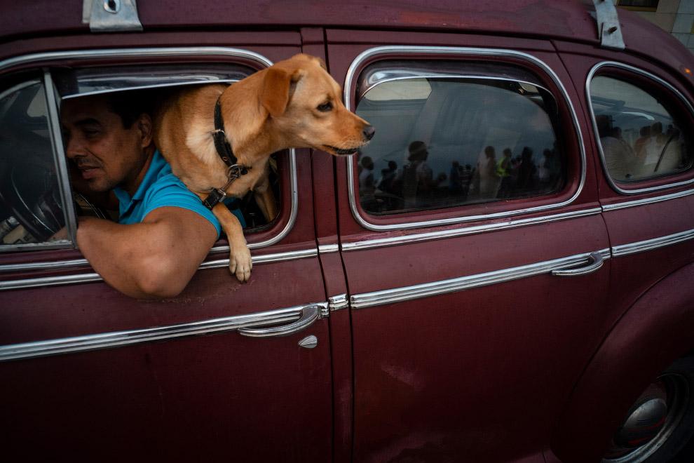 Куба — страна ретро-автомобилей.