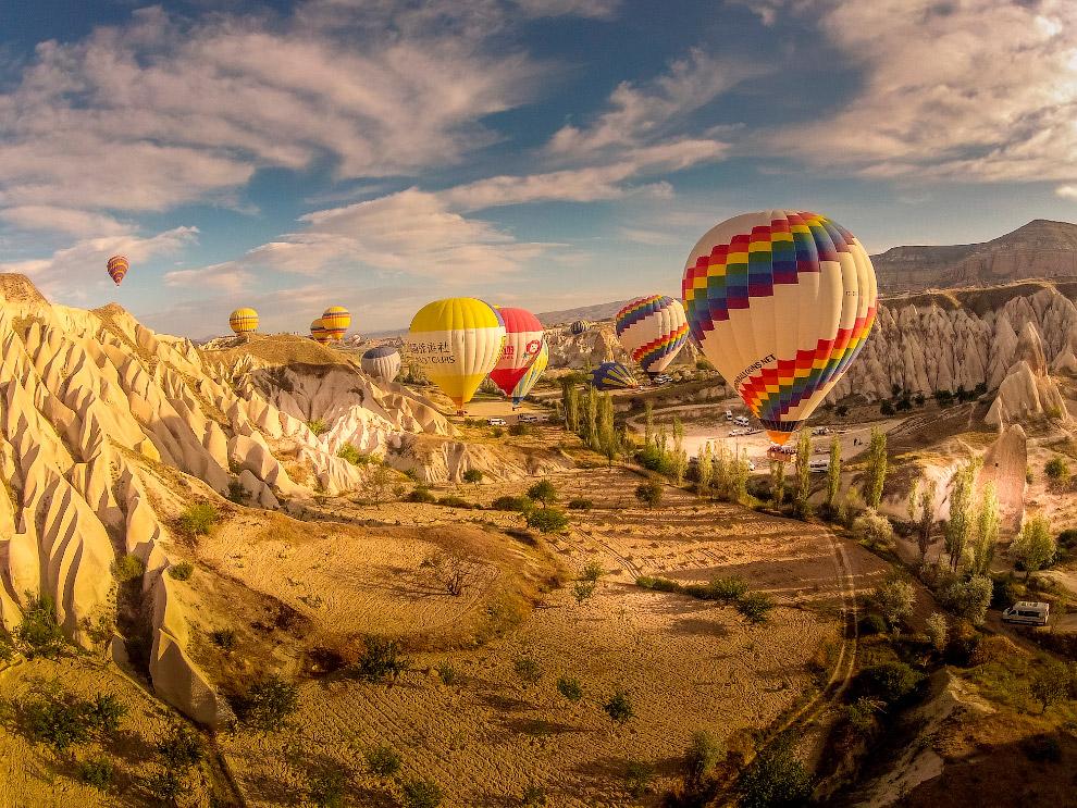 Каппадокия в Турции