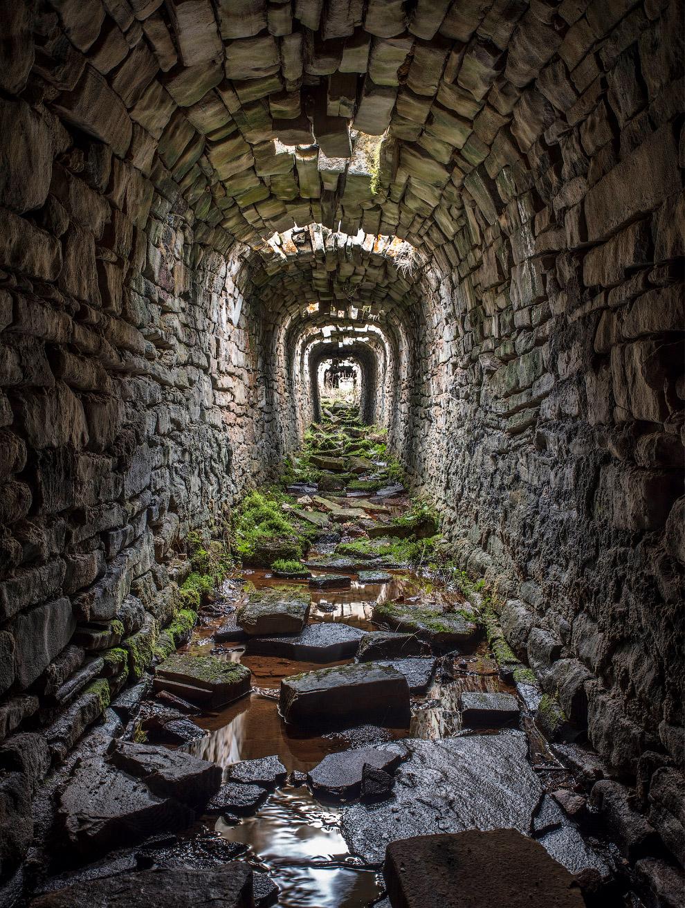 Рудники Ярнбери в Грассингтоне, графство Йоркшир