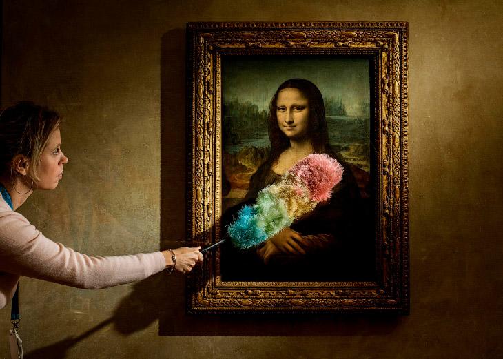 «Мона Лиза» Леонардо