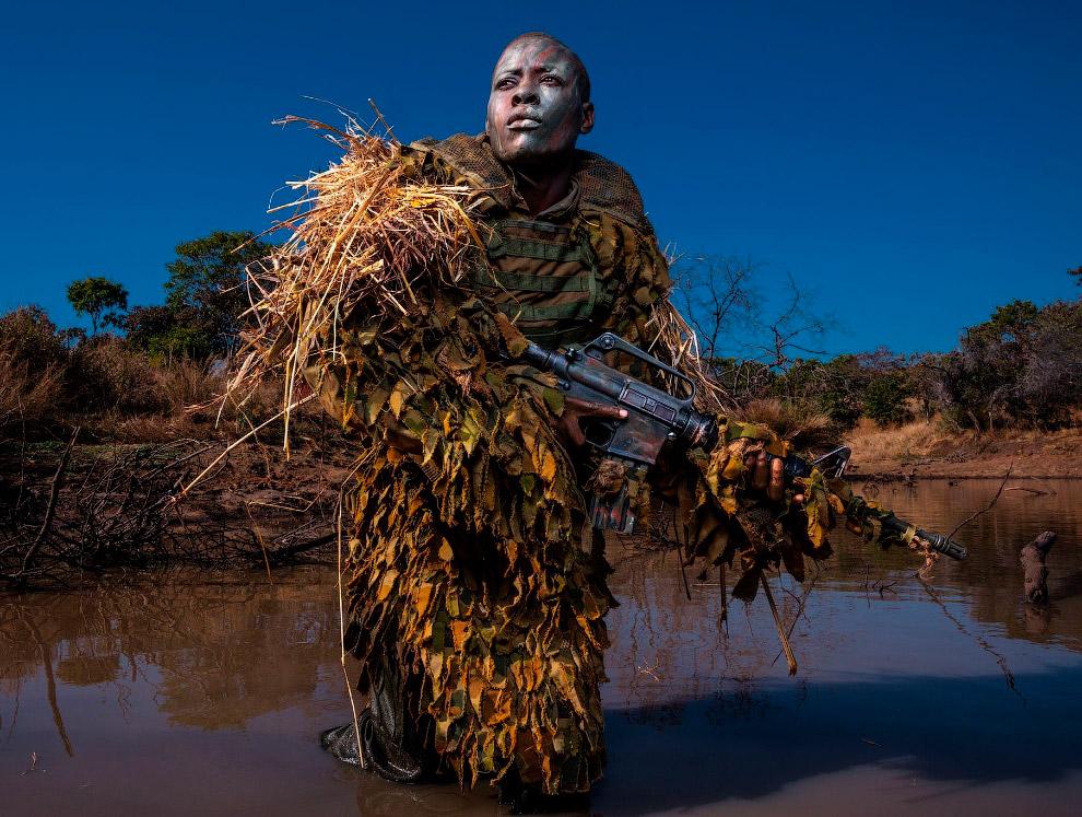 Камуфляж борцов с браконьерами