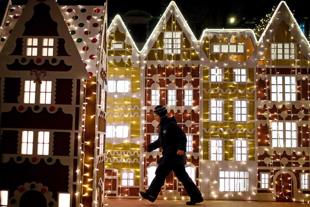 Фестиваль Путешествие в Рождество 2020 на Тверском бульваре в Москве