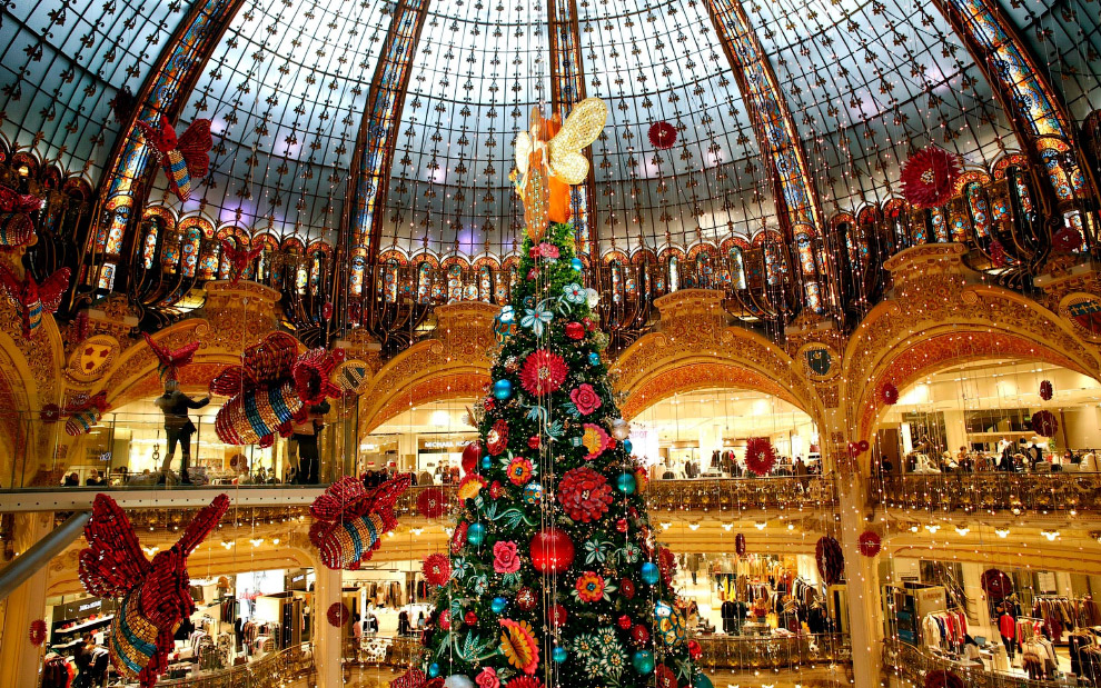 Универмаг Galeries Lafayette в Париже