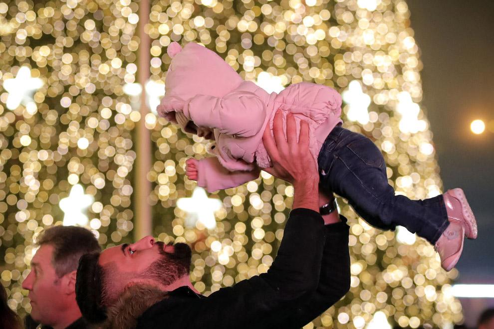 Рождественская ярмарка в Бухаресте, Румыния
