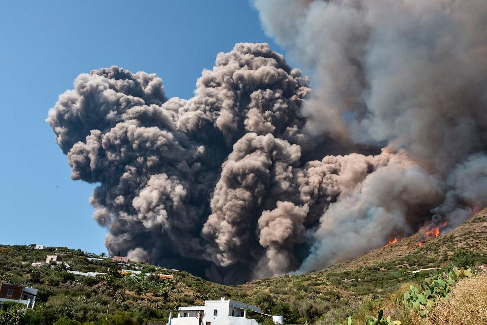 вулкана Стромболи