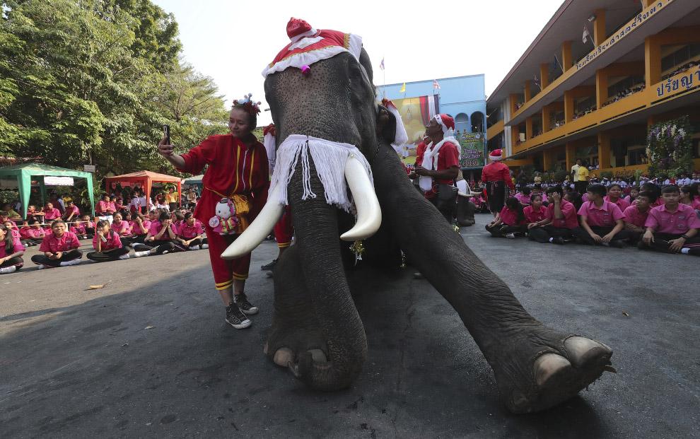 Праздник в провинции Аюттхая, к северу от Бангкока, Таиланд