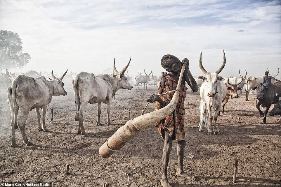 Рогатая валюта, или как живут племена в Африке