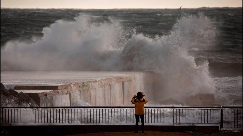 Урагана «Глория» в Испании