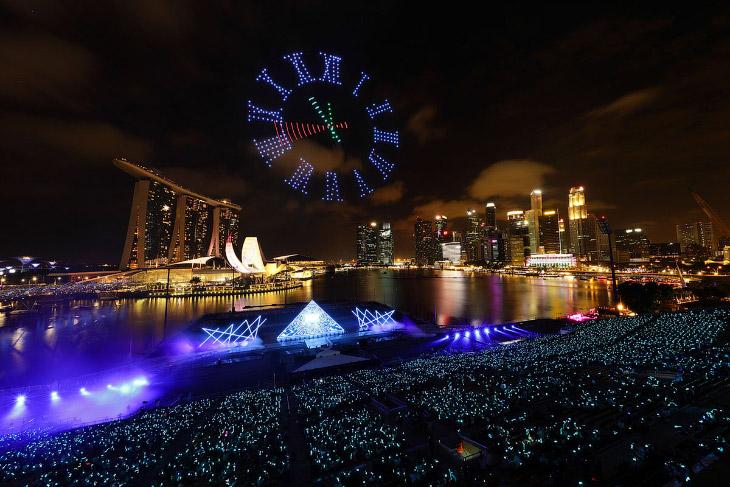 Новий рік в Сінгапурі