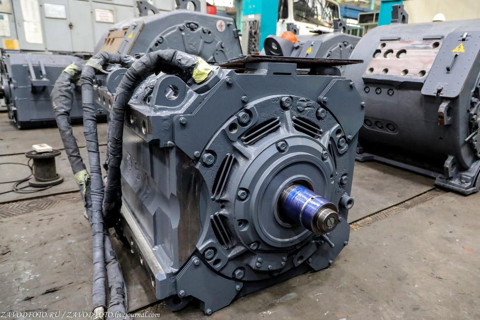 двигатель тяговой постоянного тока (ДТК-417к)