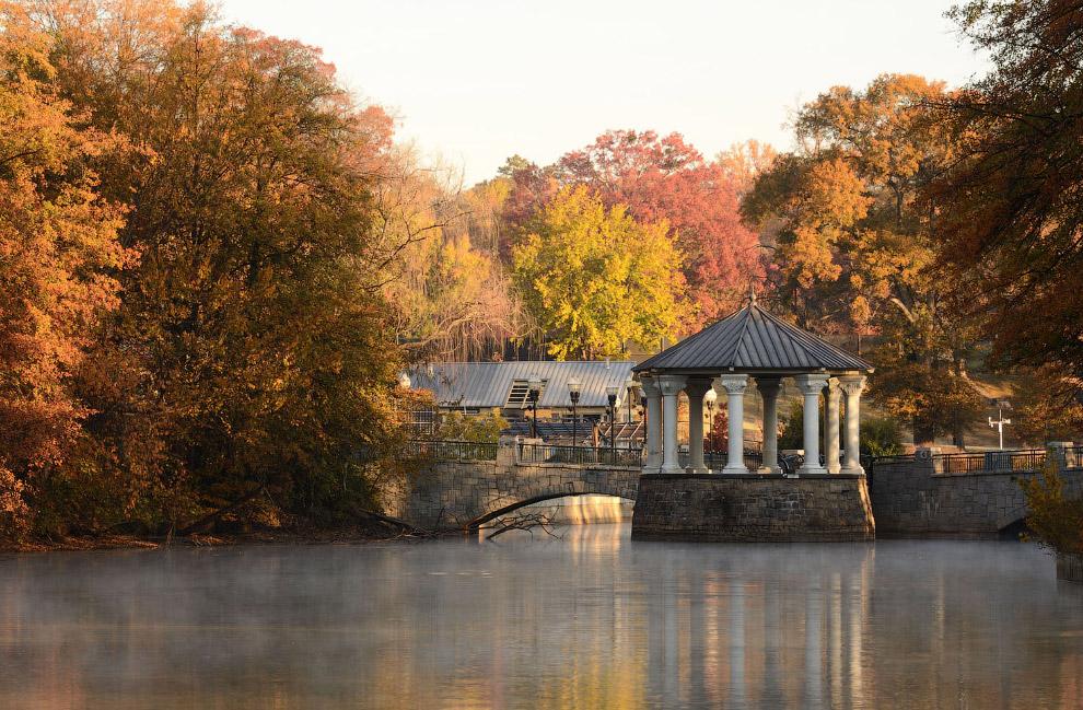 Озеро Клара Меер в парке Пьемонт