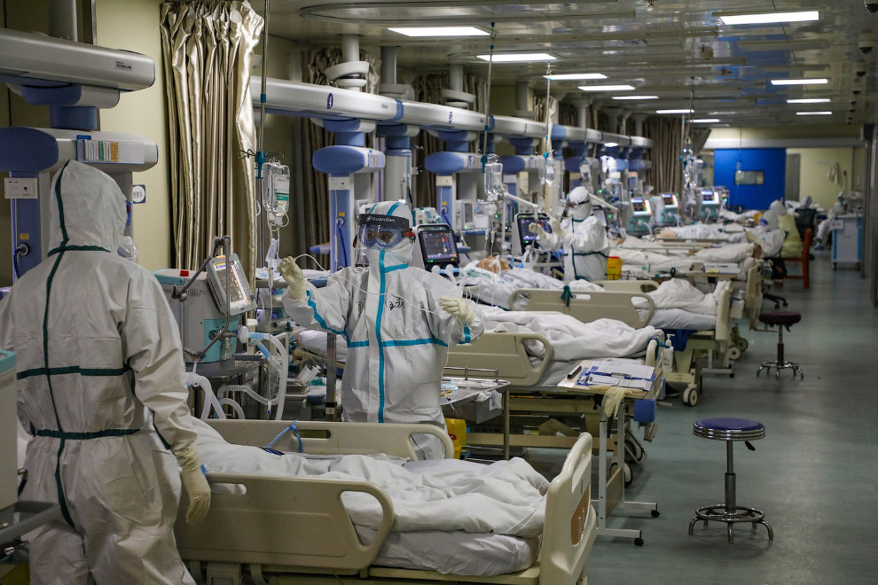 Больница в Ухани