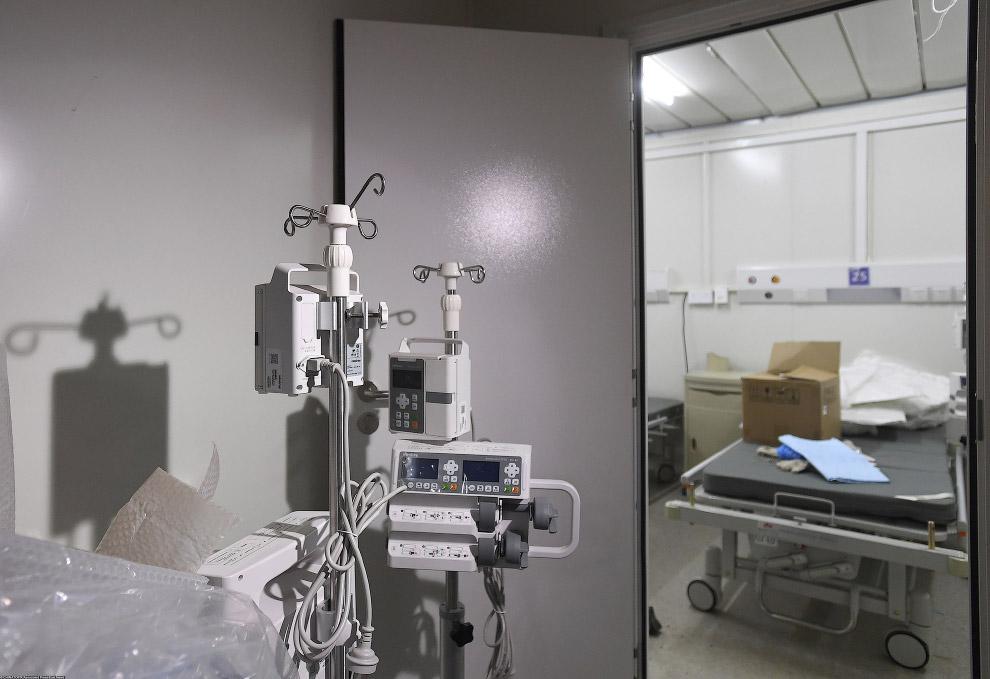 Как построить больницу за 10 дней