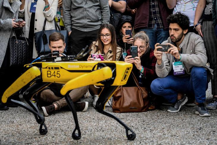Знаменитые роботы компании Boston Dynamics
