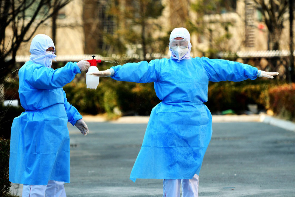 Дезинфекция, провинция Шаньдун