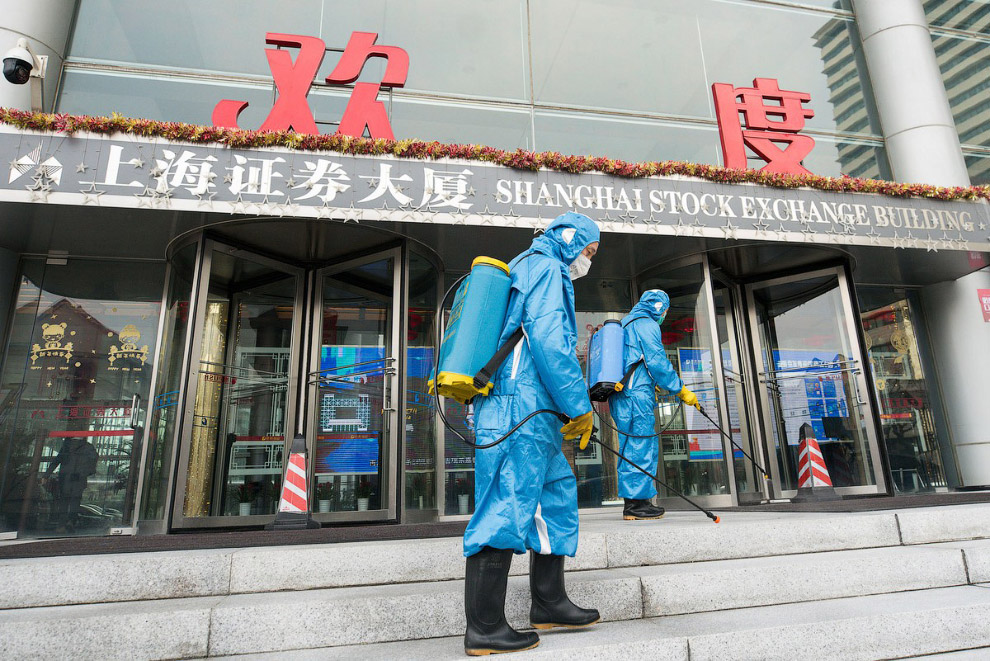 Дезинфекция в Шанхае