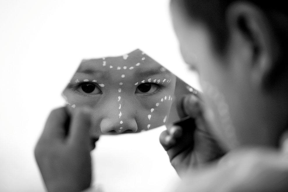 Лицо в зеркале