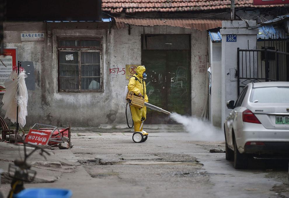 В Ухани, Китай