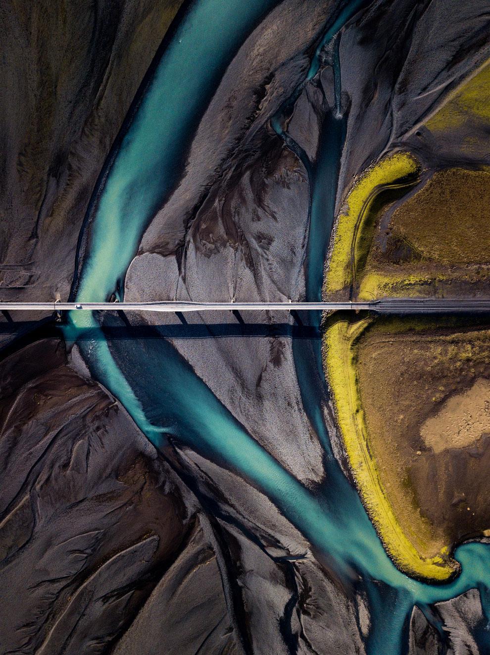 Еще один космический пейзаж из Исландии