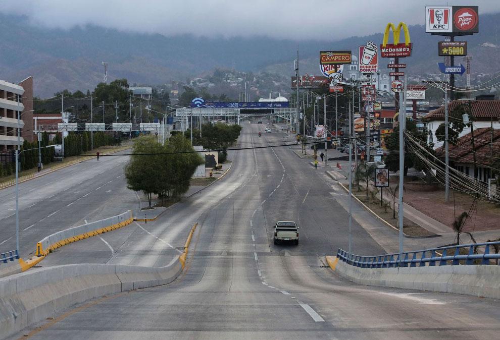 Пустота в Тегусигальпе, Гондурас
