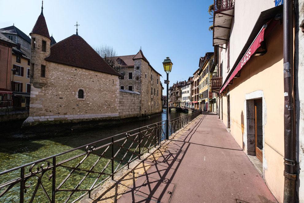 Старый город Анси, Франция