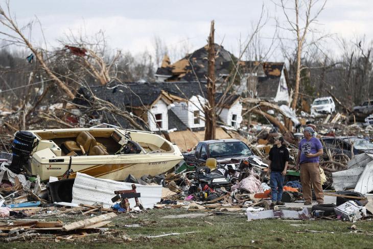 Смерч и торнадо в США