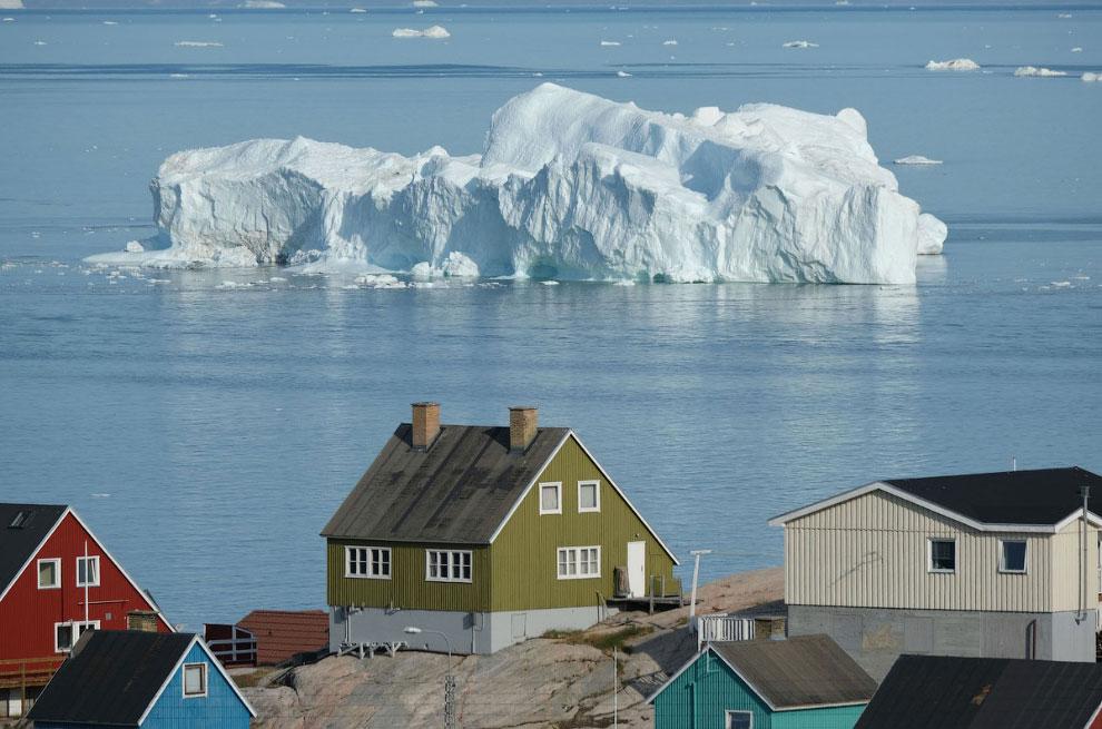 Айсберг в Илулиссате, Гренландия