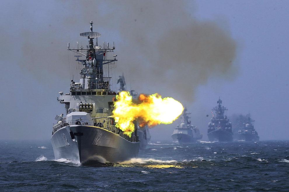 Китайский эскадренный миноносец «Харбин»