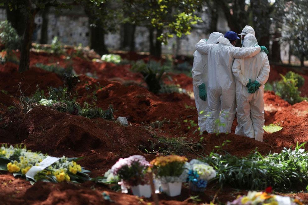 Кладбище в Сан-Паулу, Бразилия