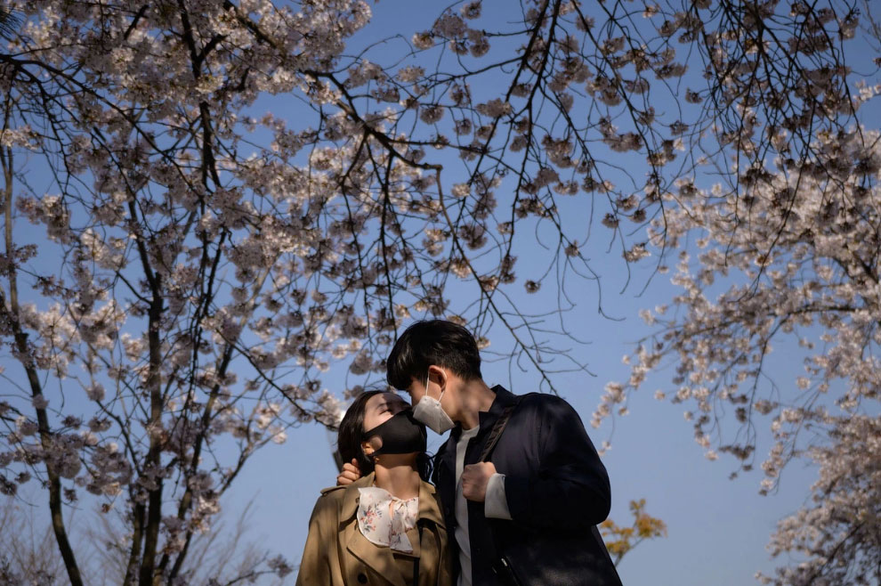 Весна в Сеуле, Южная Корея
