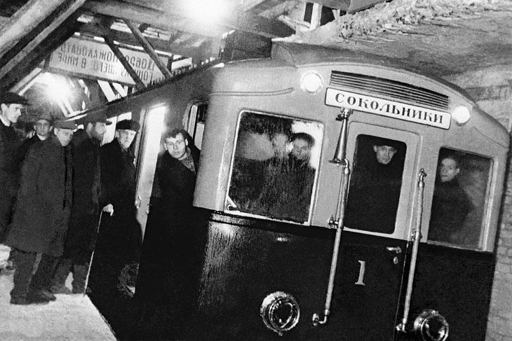 Московское метро 85 лет назад
