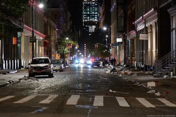 Судная ночь в Нью-Йорке