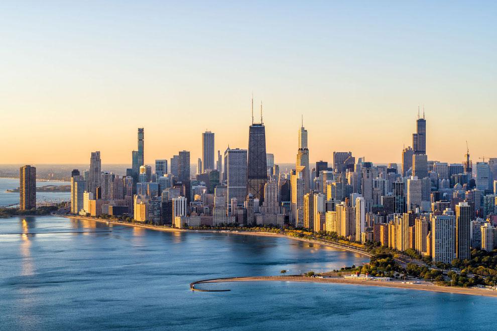 Рассвет в Чикаго