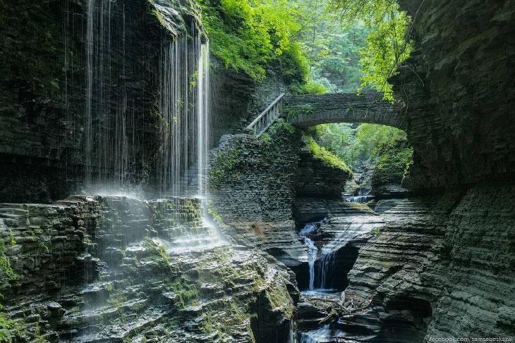 Самое красивое места штата Нью-Йорк