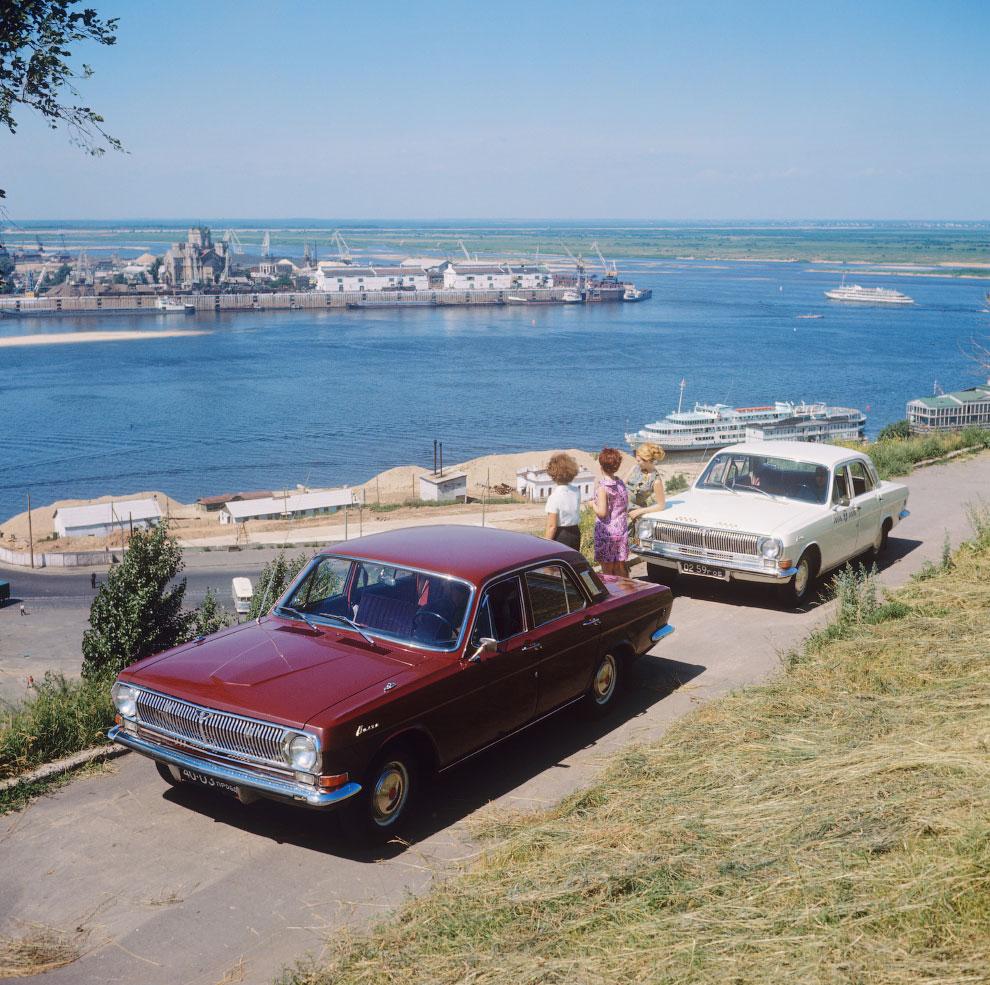 Автомобиль ГАЗ-24, 1970 год