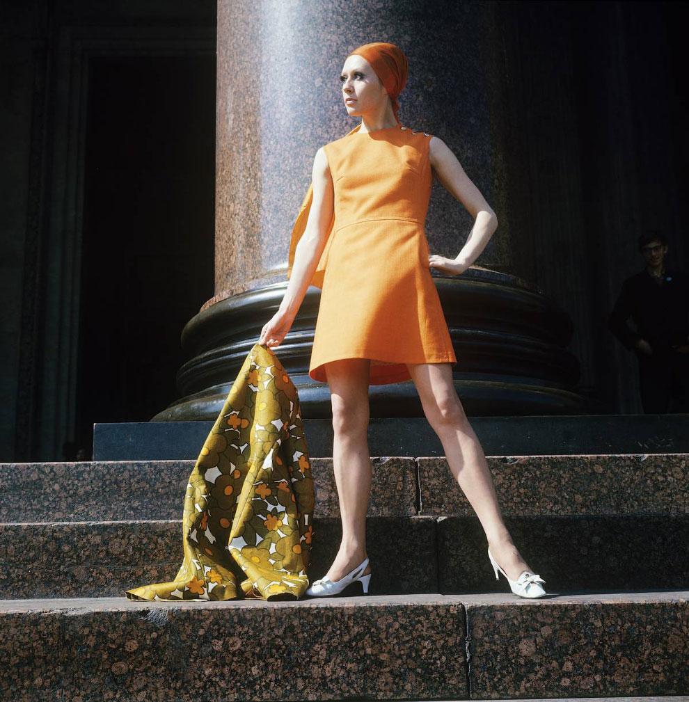 Женская мода, 1970 год
