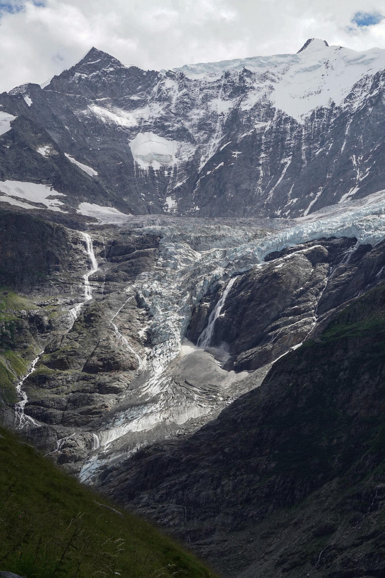 Остатки ледника, Швейцарские Альпы