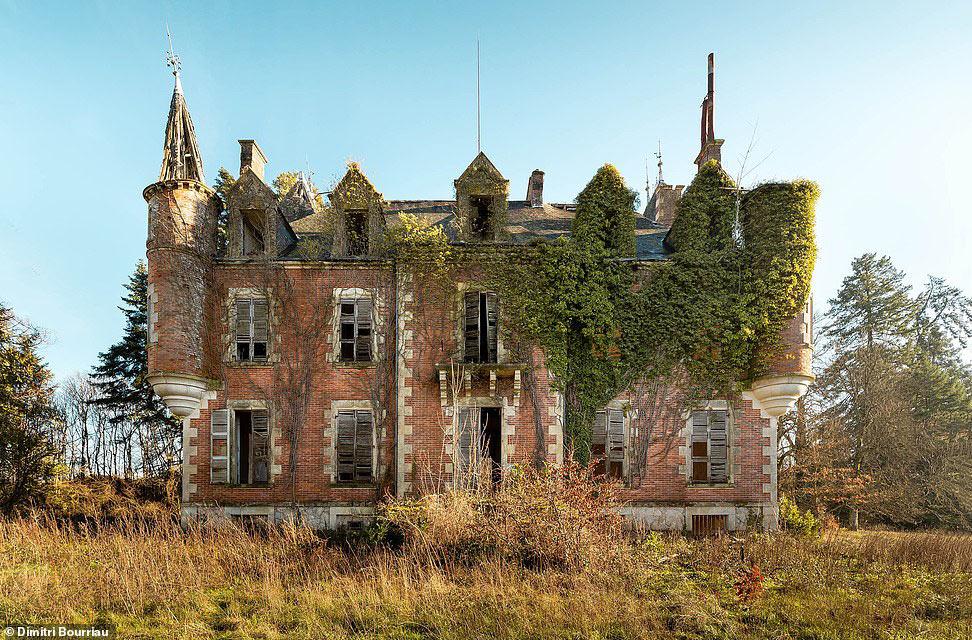 Фотография замка во Франции