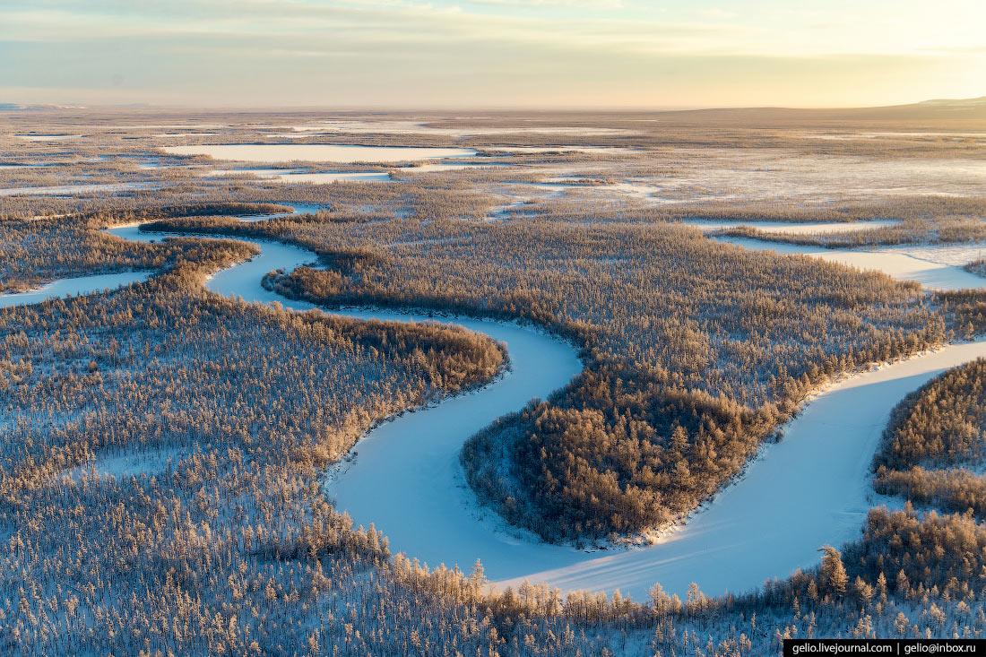 Река Вилюй.