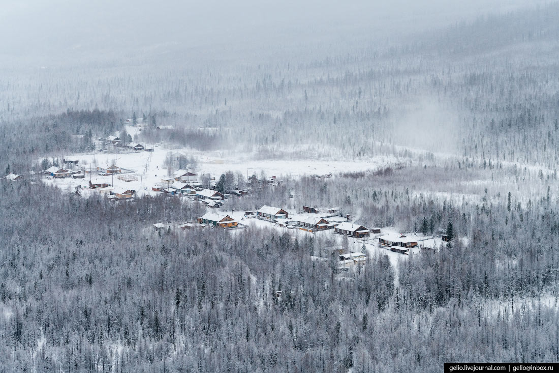 Посёлок Учами