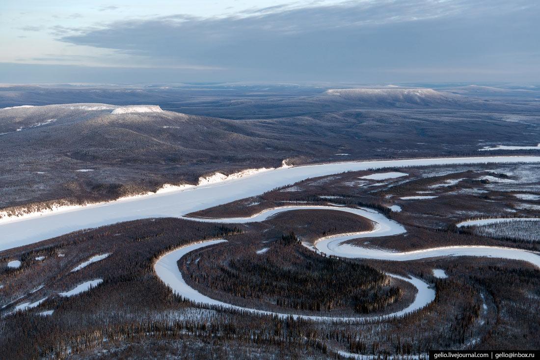 Устье реки Иритки