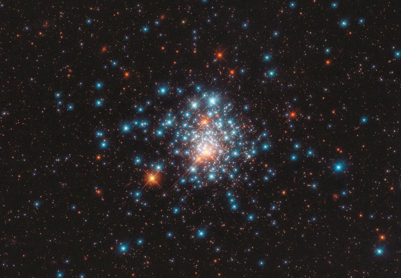 Рассеянное скопление NGC 1805