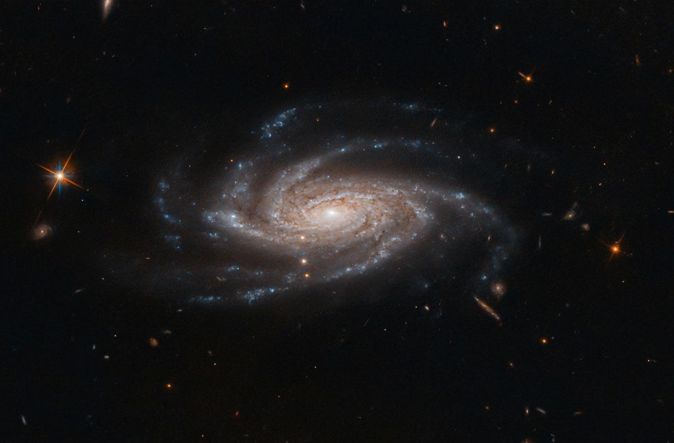 Спиральная галактика NGC 2008
