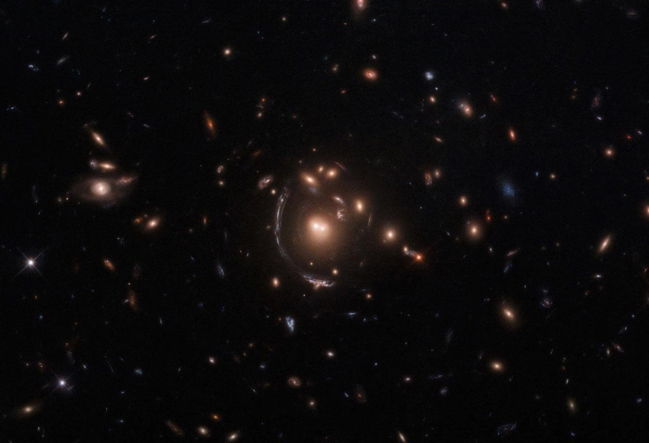 Галактика-«трансформер» LRG-3-817