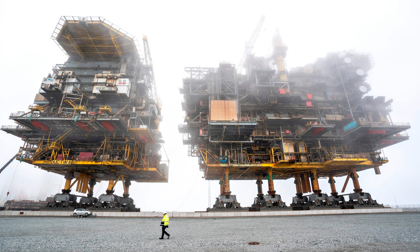 Нефтегазоперерабатывающие платформы