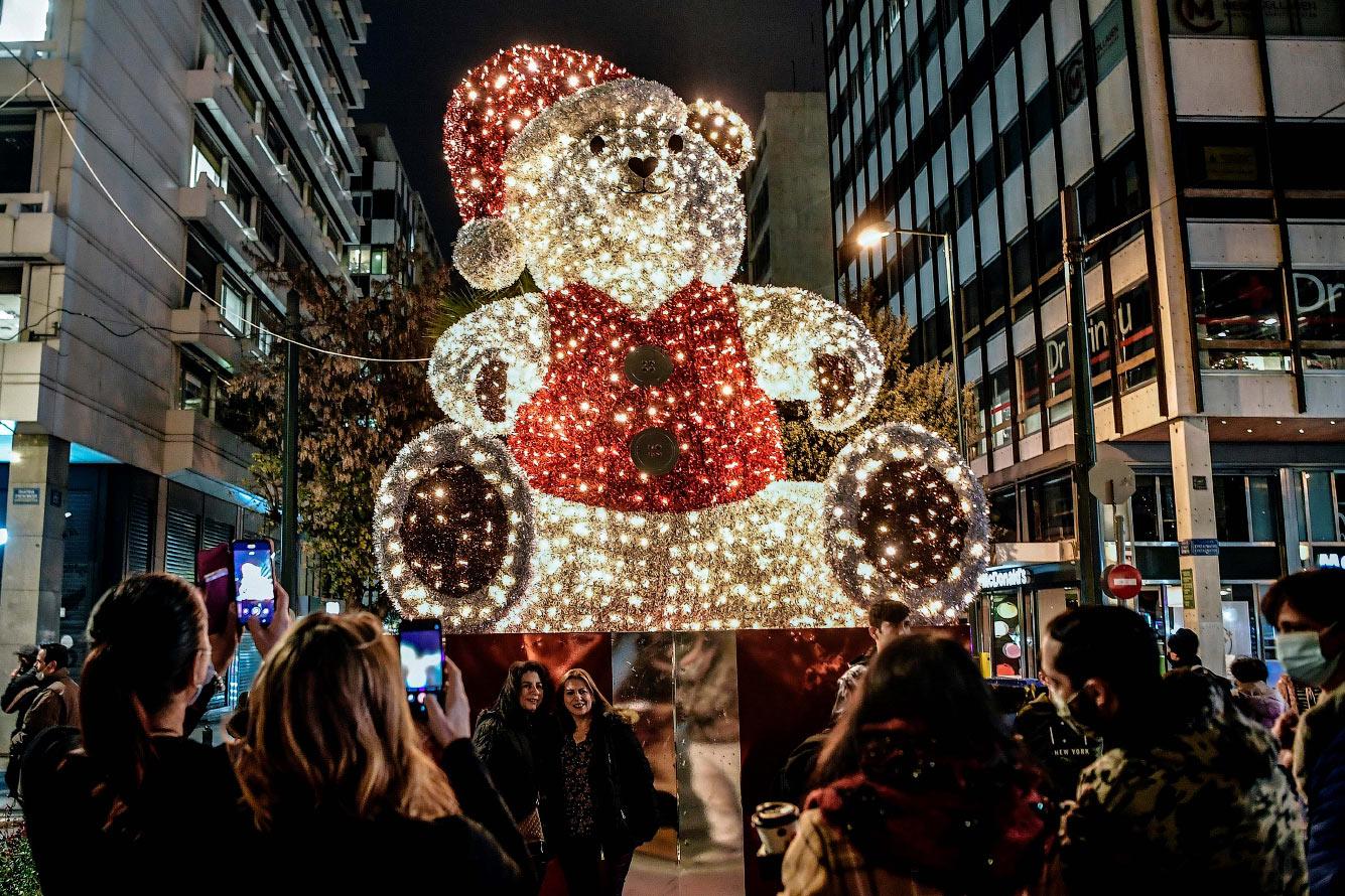 Рождественский медведь