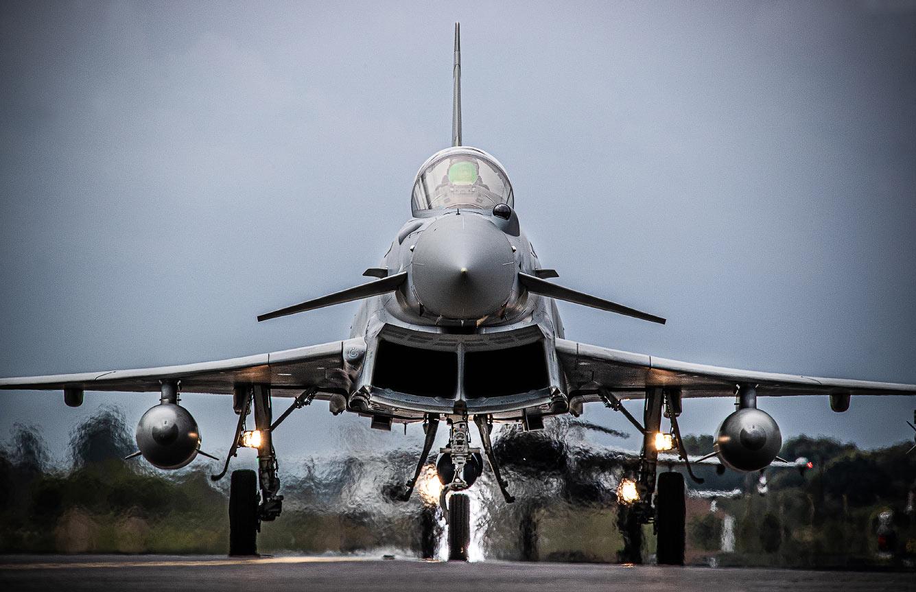 Многоцелевой истребитель Тайфун / Typhoon FGR4
