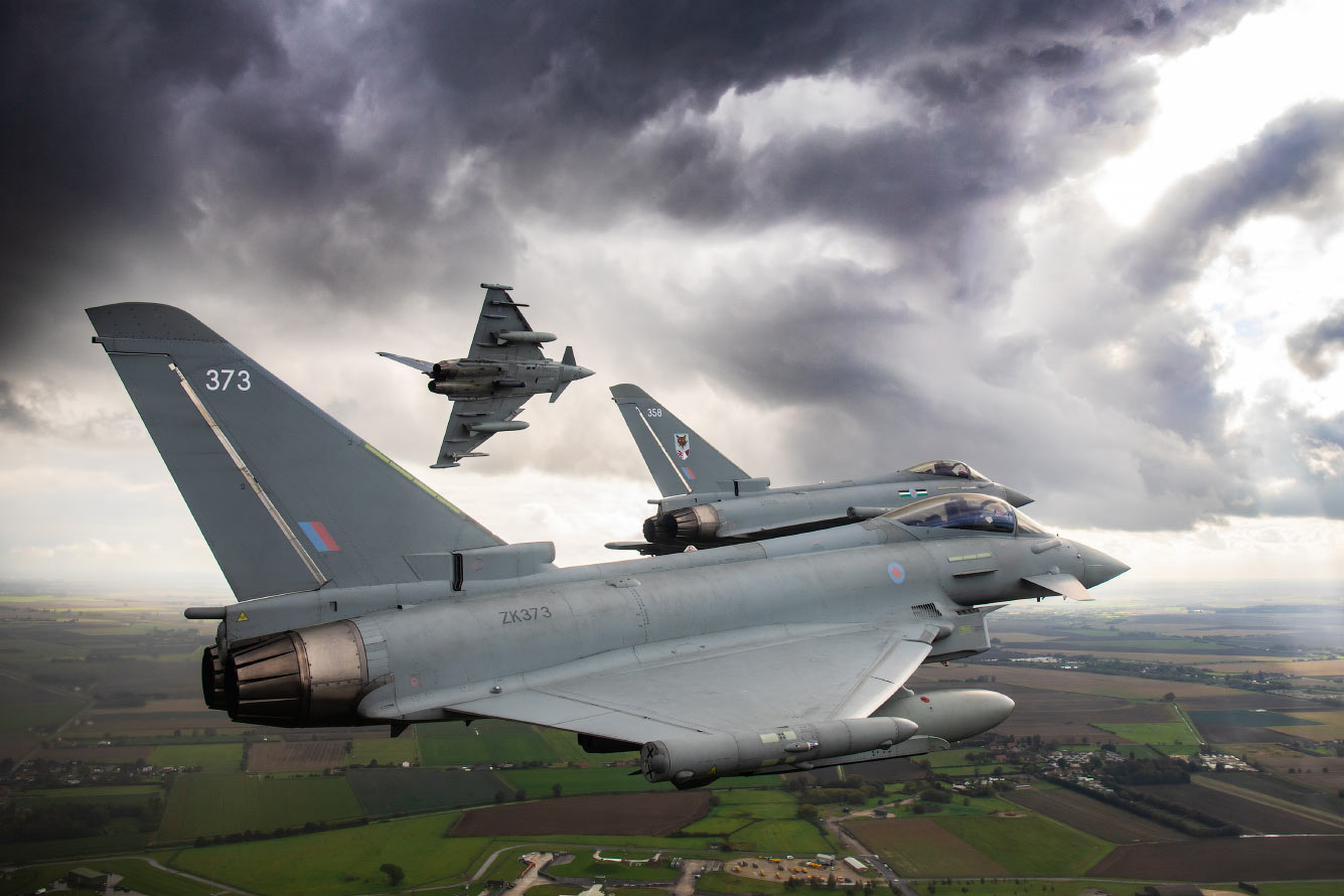 Эскадрилья Eurofighter Typhoon