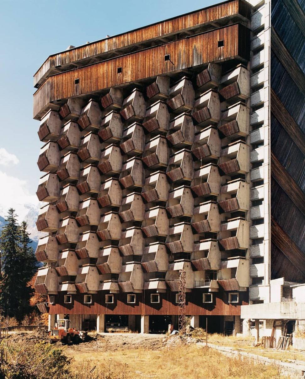 Недостроенный отель Аманауз