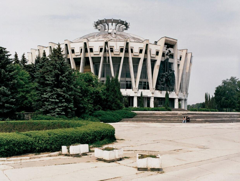 Кишинёвский государственный цирк. Кишенёв, Молдова.